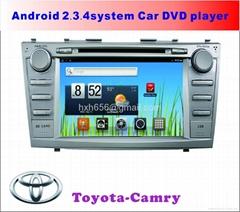 丰田凯美瑞 专车专用安卓车载DVD