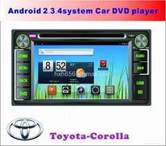 Toyota Corolla Android system Car DVD player
