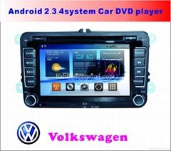 大众安卓系统专车专用车载DVD播放器