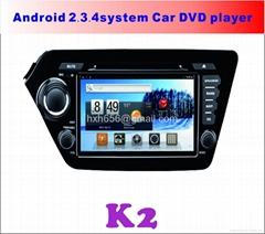 K2安卓系统专用车载DVD播放器