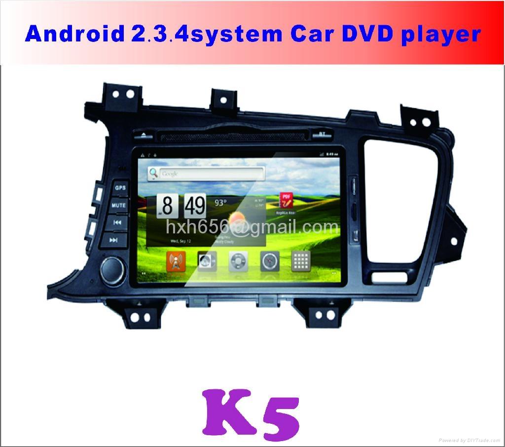 K5安卓系统专用车载DVD播放器 1