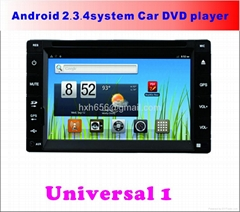 Android System Universal Car DVD Player