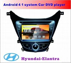 伊兰特  安卓系统车载DVD播放器