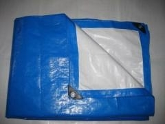 woven fabric cavans pe tarpaulin polyethylene hdpe sheets with plastic corner,