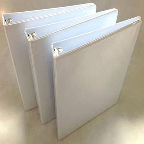 "1""O Shape 3 Ring Binder With Clear Pocket 1"