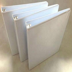 "1""O Shape 3 Ring Binder With Clear Pocket"