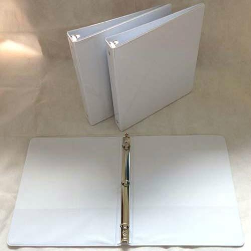 "1""O Shape 3 Ring Binder With Clear Pocket 2"