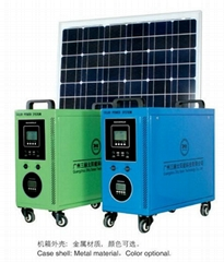 100Watt solar power system for home