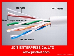 d-link cat5e utp lan cable copper conductor