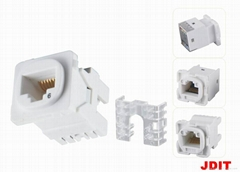 Australia Cat5e Keystone Jack for clipsal model