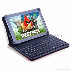 Best fashionble Bluetooth keyboard case for tablet computer