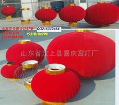 Shandong province MenShangXian your joint brand red lanterns factory