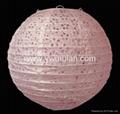 special round paper lantern