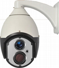 Dual Image Speed Dome Thermal Camera