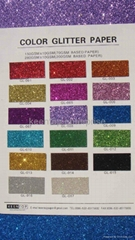 color glitter decoration paper