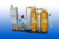 双槽自吸密闭式蒸汽回收机