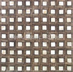 石材椰壳马赛克装饰板