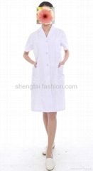 Women doctor white uniform