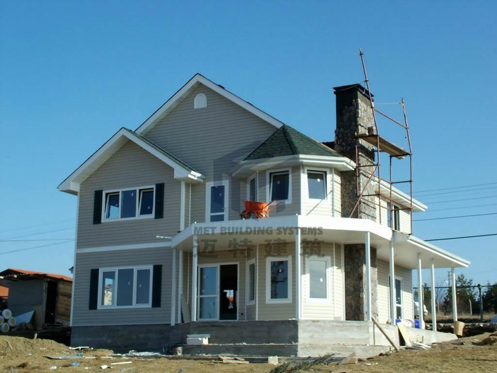 Modular homes prefab house villa for sale metframe china for Modular house building