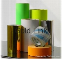 Matt Silver PET Adhesive Films