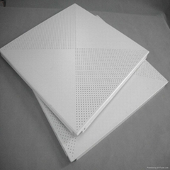 perforated types of false ceiling board