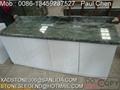 green granite countertop 1