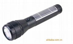 太阳能手电筒 10LED