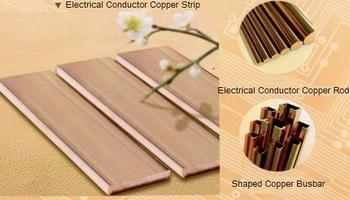 Oxygen-Free Copper(Tin-plated) Busbar 1