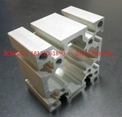 8080G重型铝型材 工业铝型材 流水线型材 工作台 框架