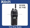 Handheld two way radio ICOM IC-V82