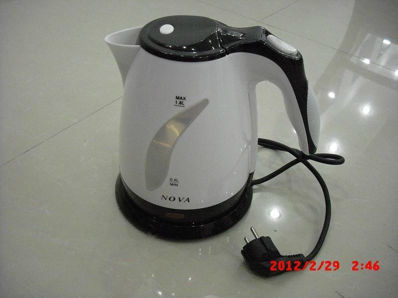 plastic electric kettle 1