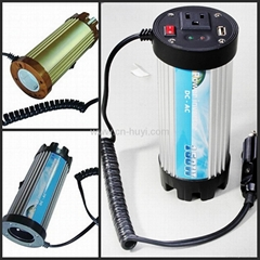 cup shape dc to ac car power inverter with USB