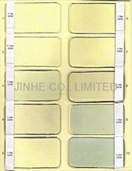 Transparent plastic film