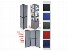 Portable 3*2 Folding Triangle Panel System