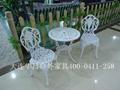 大連花園鑄鋁桌椅 2