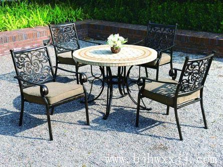 大連花園鑄鋁桌椅 1