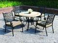 大連花園鑄鋁桌椅
