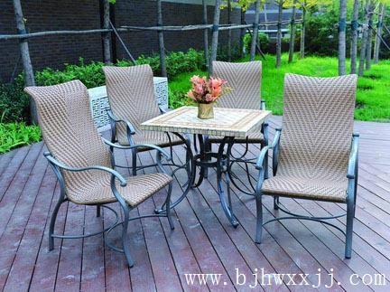 大連花園鑄鋁桌椅 3