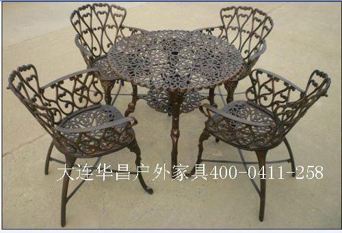大連花園鑄鋁桌椅 4