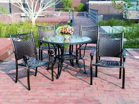 大連花園鑄鋁桌椅 5