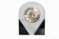 水晶藝朮座鐘