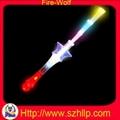 fiber glow stick,LED flashing fiber stick 2
