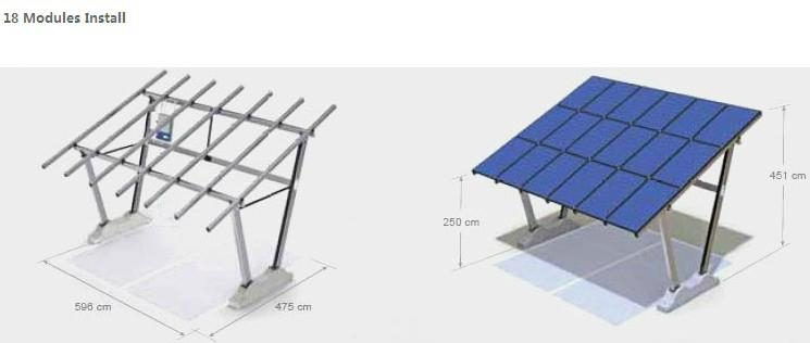 Solar Carport - Radiant (China) - Other Electrical ...
