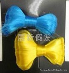 bow hair ladygaga