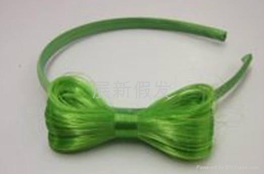 bow hair ladygaga 2