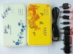 New Arrival 5000mAh Mobile phone Chargers Portable Power Bank