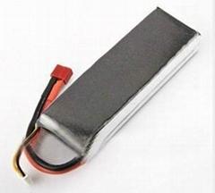 7.4V 5000mAh 40C Lithium Polymer RC Battery Packs