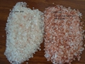 2 to 5 mm pink and red salt