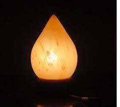 Tear trop salt lamp