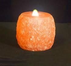 Hand chip candle